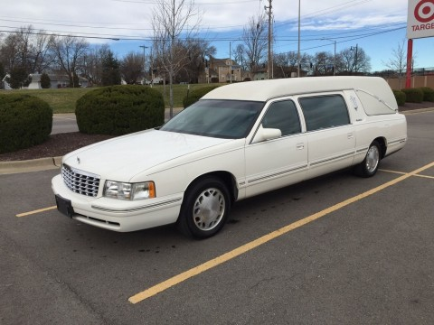 1999 Cadillac S&S Funeral Coach Hearse for sale