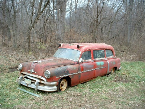 1954 Pontiac Chieftian Eight Superior Ambulance for sale