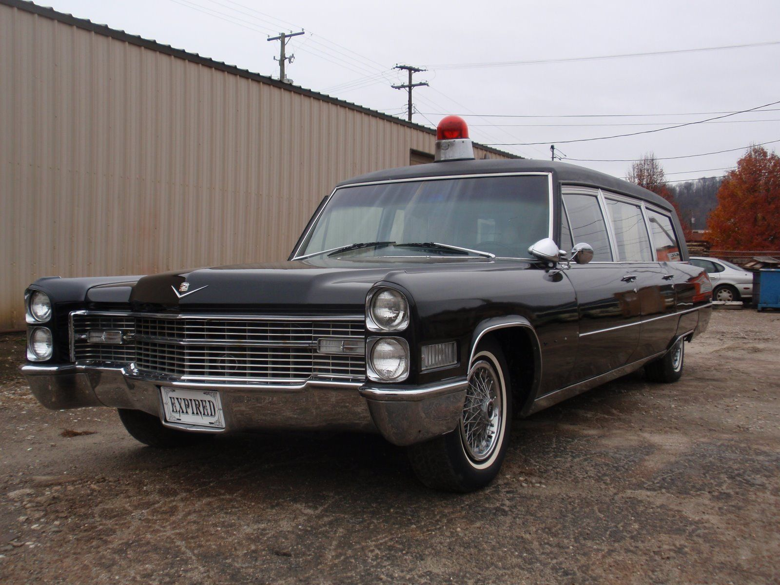 1966 Cadillac Fleetwood M & M HEARSE/AMBULANCE for sale