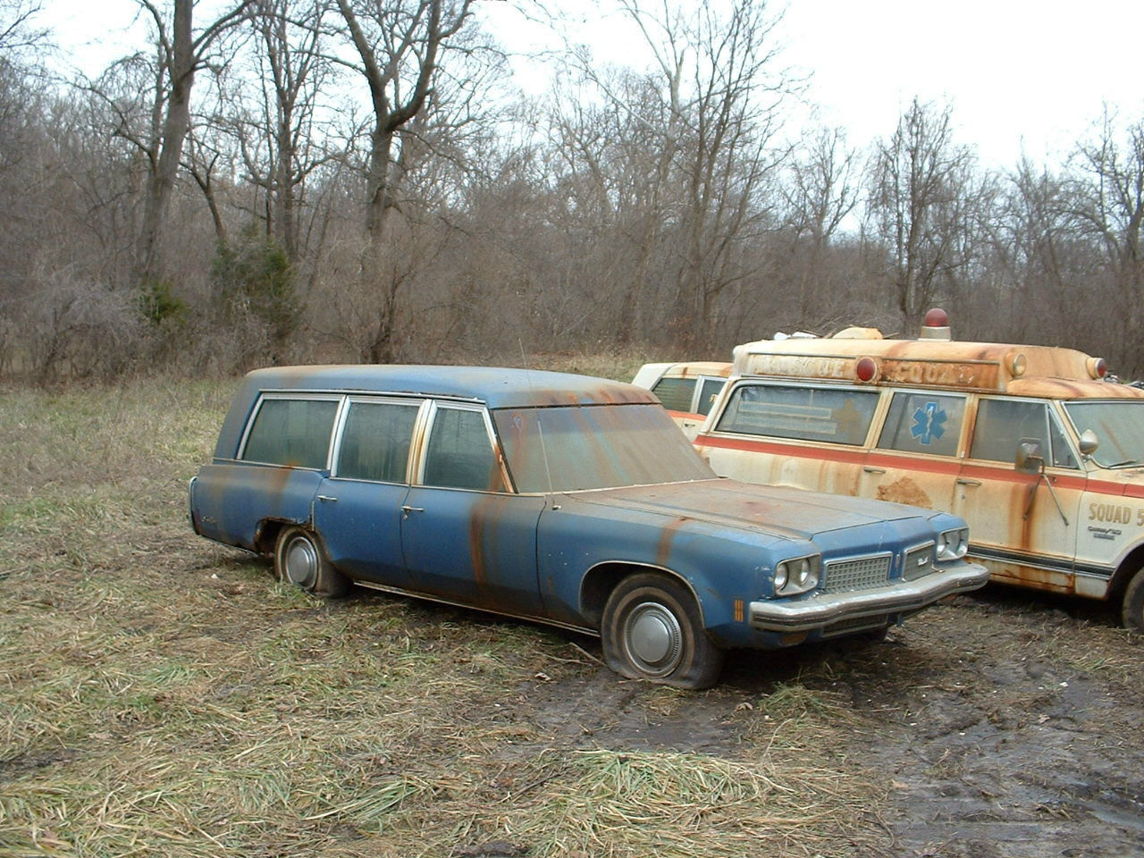 1970 Oldsmobile 98 Combination Hearse Ambulance For Sale