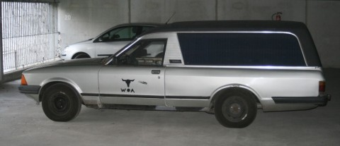 1982 Ford Granada Leichenwagen (pollmann Aufbau) for sale