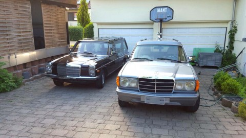 1982 Mercedes Benz 240d Hearse for sale