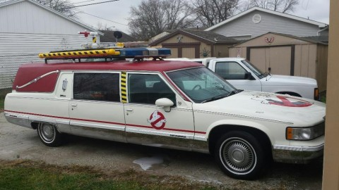1994 Cadillac Hearse ecto-1 for sale