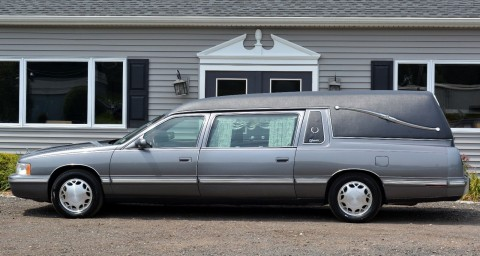 1998 Cadillac Deville Superior Coach Hearse for sale