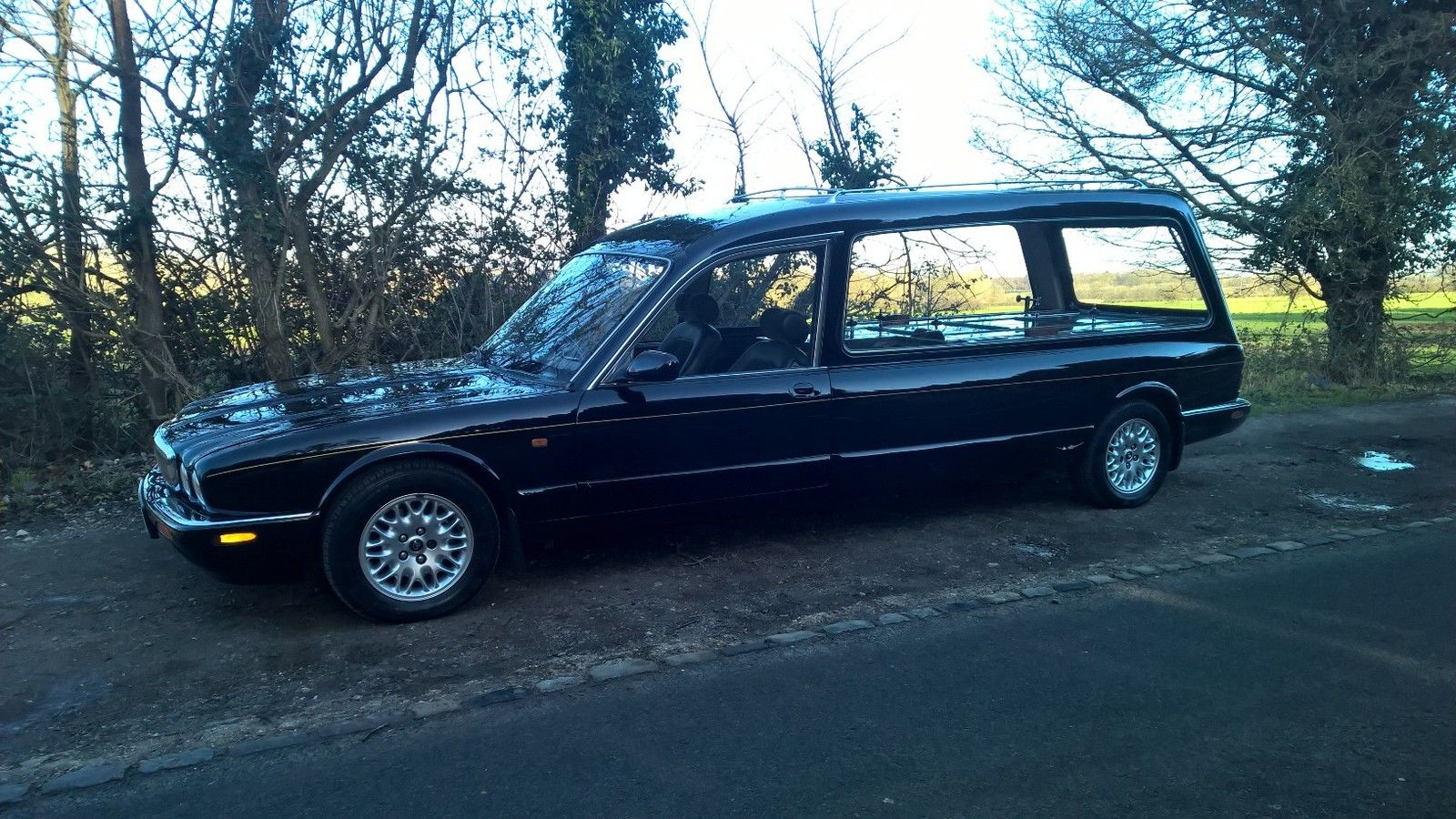 1999 Jaguar Daimler Hearse Funeral Vehicle For Sale