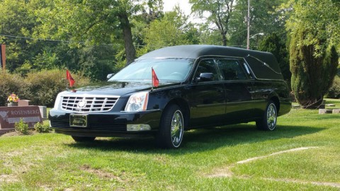 2007 Cadillac DTS Kingsley Hearse by Eagle for sale