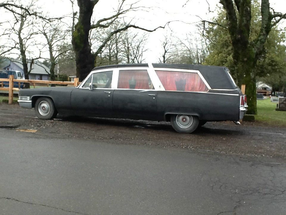hearse 1969 cadillac for sale
