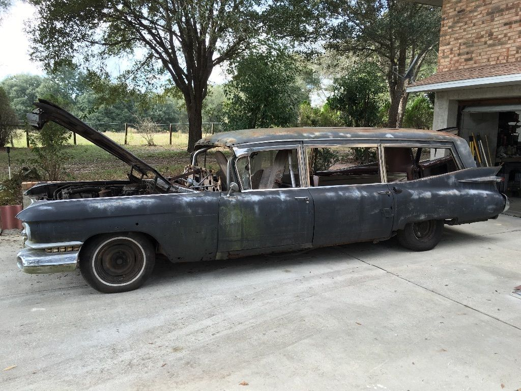 1959 Cadillac S Amp S Hearse Matching Numbers For Sale