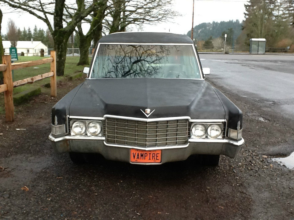1969 Cadillac Hearse Crown Sovereign Model For Sale