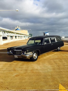 1970 Cadillac Fleetwood Miller/Meteor Landau 3 way hearse for sale