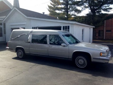 1988 Cadillac Fleetwood Hearse by Eureka for sale