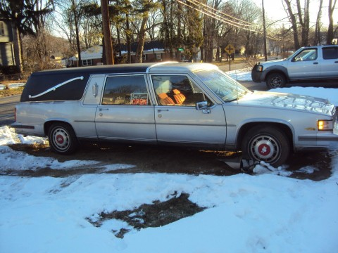 1988 Cadillac Superior Fleetwood Hearse for sale