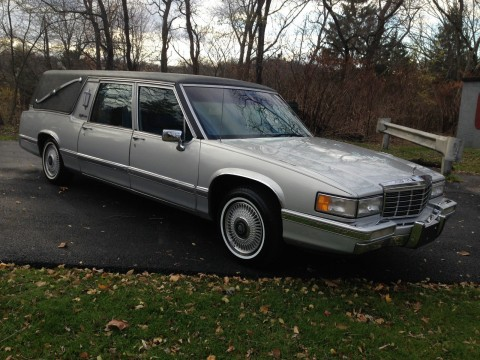 1992 Cadillac Hearse Coffin Carrier Cult classic for sale