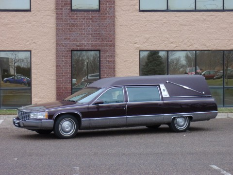 !! 1995 Eureka Hearse Cadillac Funeral Coach for sale