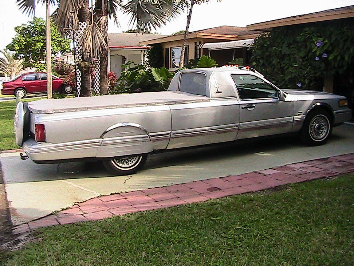 1995 Lincoln Continental Executive Built On Palmer Chassis