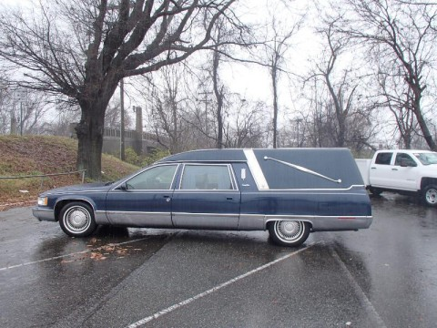 1996 Cadillac Fleetwood Funeral Hearse Limo for sale