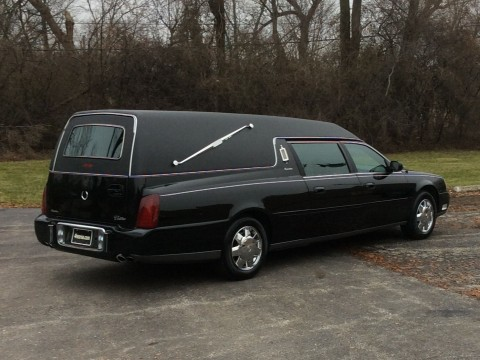 2000 Cadillac Deville Funeral Coach Eureka for sale
