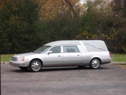 2000 Eagle Cadillac Deville Ultimate Hearse Silver Chrome wheels for sale