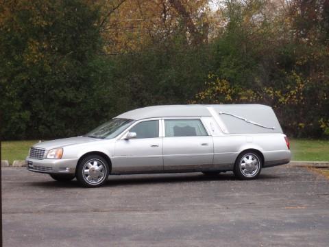 2000 Eagle Cadillac Ultimate Hearse Silver Chrome wheels for sale