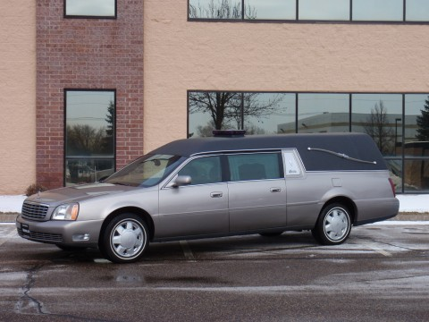 2000 Superior Cadillac Statesman Hearse Funeral Coach for sale