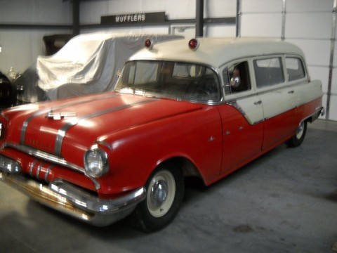 1955 Pontiac Ambulance/Hearse, Original, Rat Rod for sale