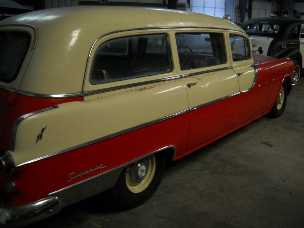 1955 Pontiac Ambulance Hearse Original Rat Rod For Sale