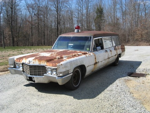 1969 Cadillac Ambulance – Hearse Combination for sale