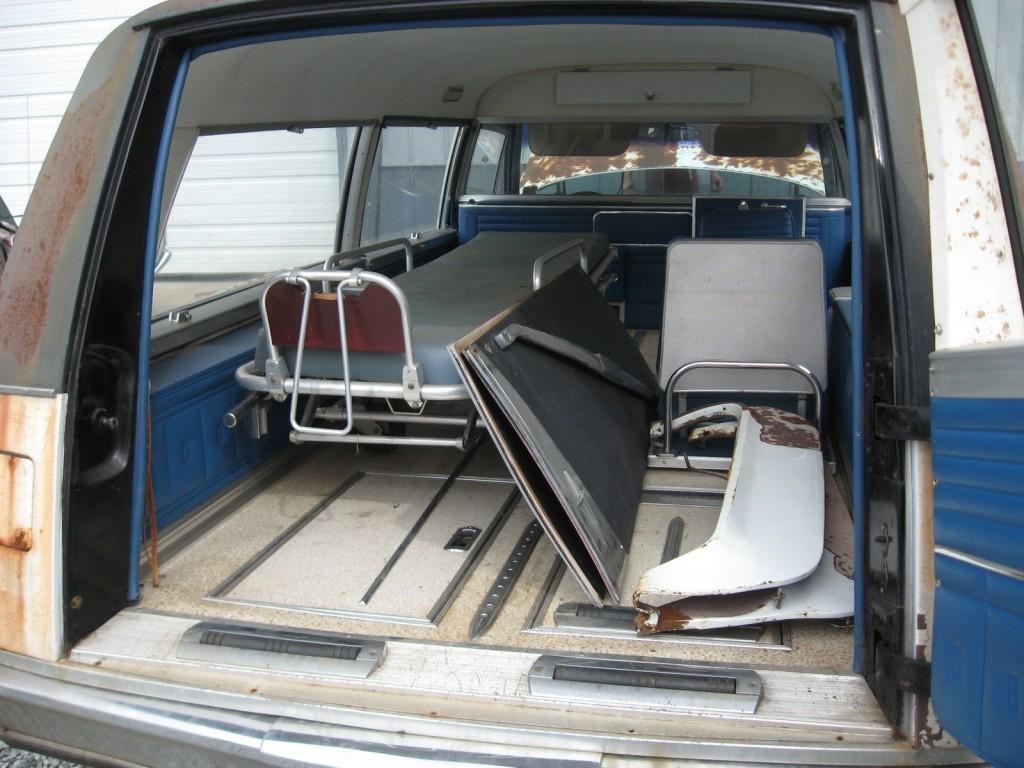 Cadillac Ambulance Hearse Combination For Sale X