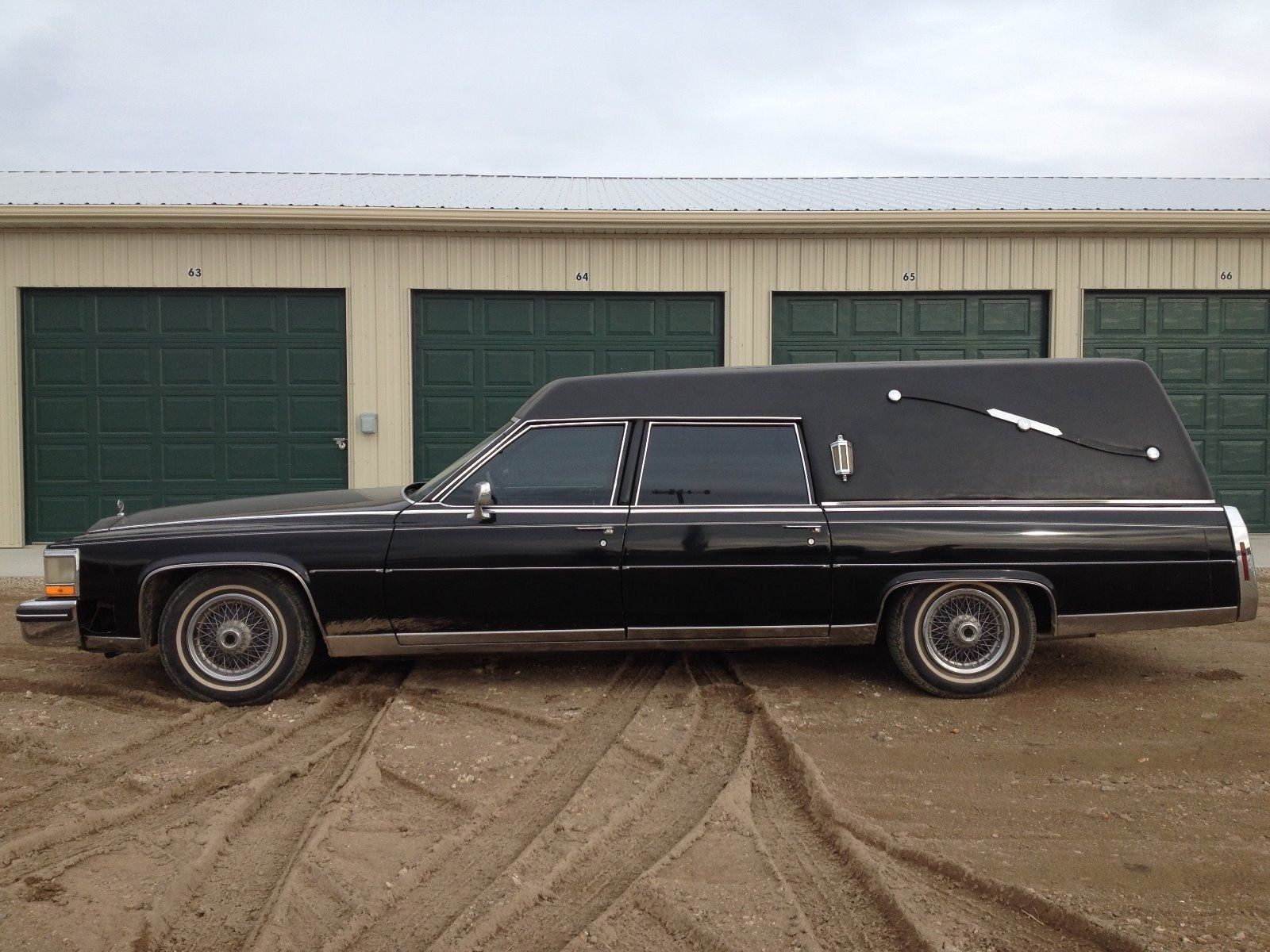 1985 Cadillac Fleetwood Hearse For Sale