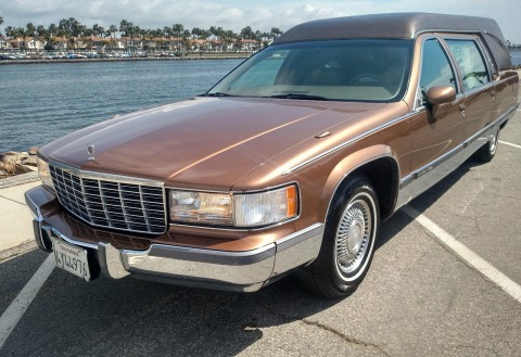 1994 Cadillac Fleetwood Superior California Hearse Funeral Coach for sale