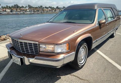 Cadillac Fleetwood Superior California Hearse Funeral Coach For Sale X