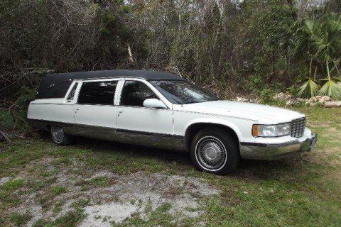1996 Cadillac Fleetwood Funeral Limo Hearse for sale