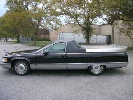 "1996 Cadillac Fleetwood Hearse ""Flower Car"" for sale"