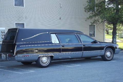 1996 Cadillac Fleetwood Superior Hearse Limo for sale