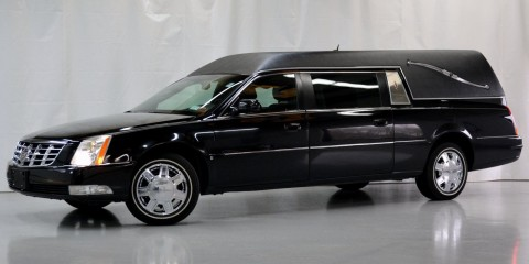 2007 Cadillac DTS Statesmem Hearse Funeral Car by Superior Coach for sale