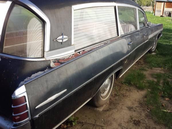 1963 Superior Coach Hearse Pontiac Bonneville For Sale