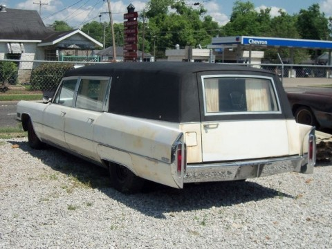 1966 Cadillac Miller Meteor Hearse Ambo Landau Top for sale