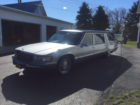 1995 Cadillac Fleetwood Victoria Brougham Hearse for sale