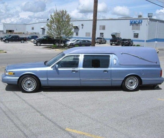 1996 Lincoln Town Car Hearse For Sale