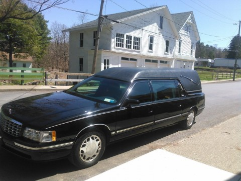 1997 Cadillac Deville Hearse Eureka for sale