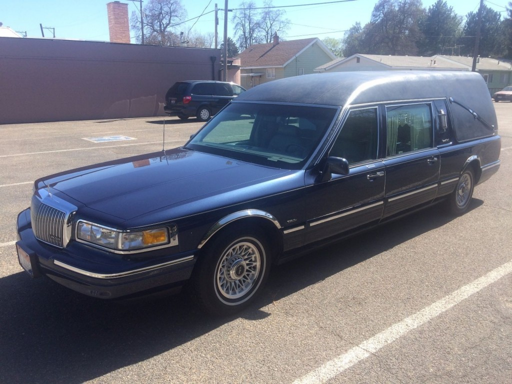 1997 lincoln town car hearse for sale. Black Bedroom Furniture Sets. Home Design Ideas