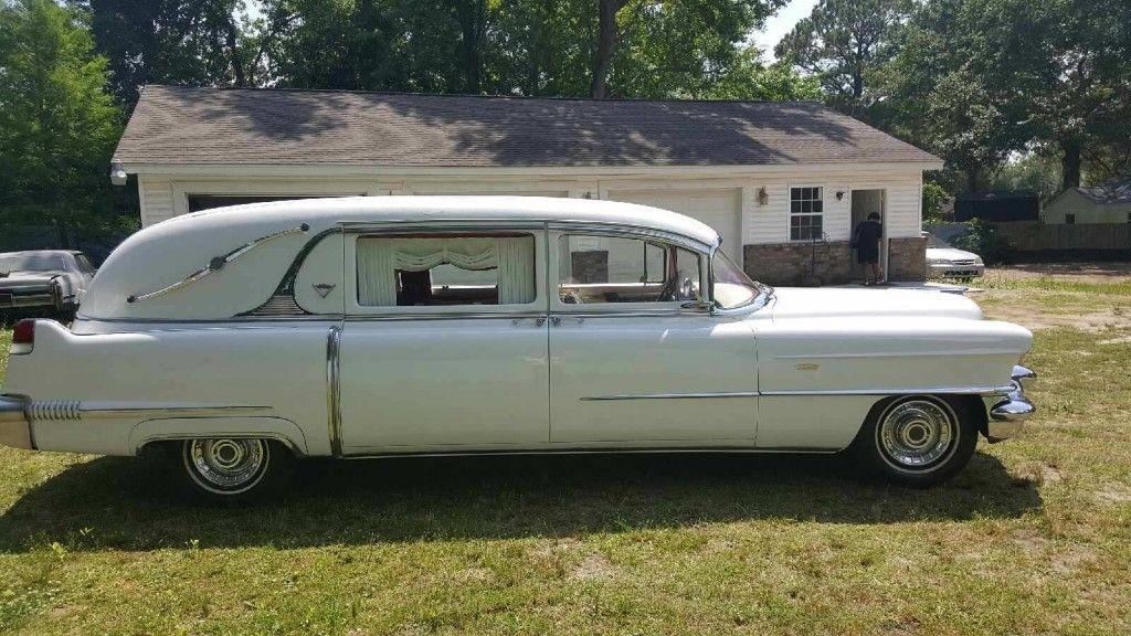 1956 Cadillac Deville Superior Hearse For Sale