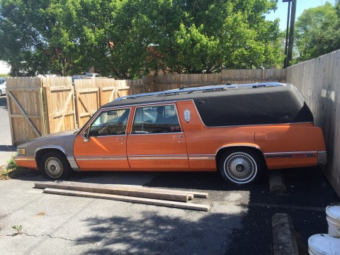 1991 Cadillac Fleetwood Superior Coach Victoria for sale