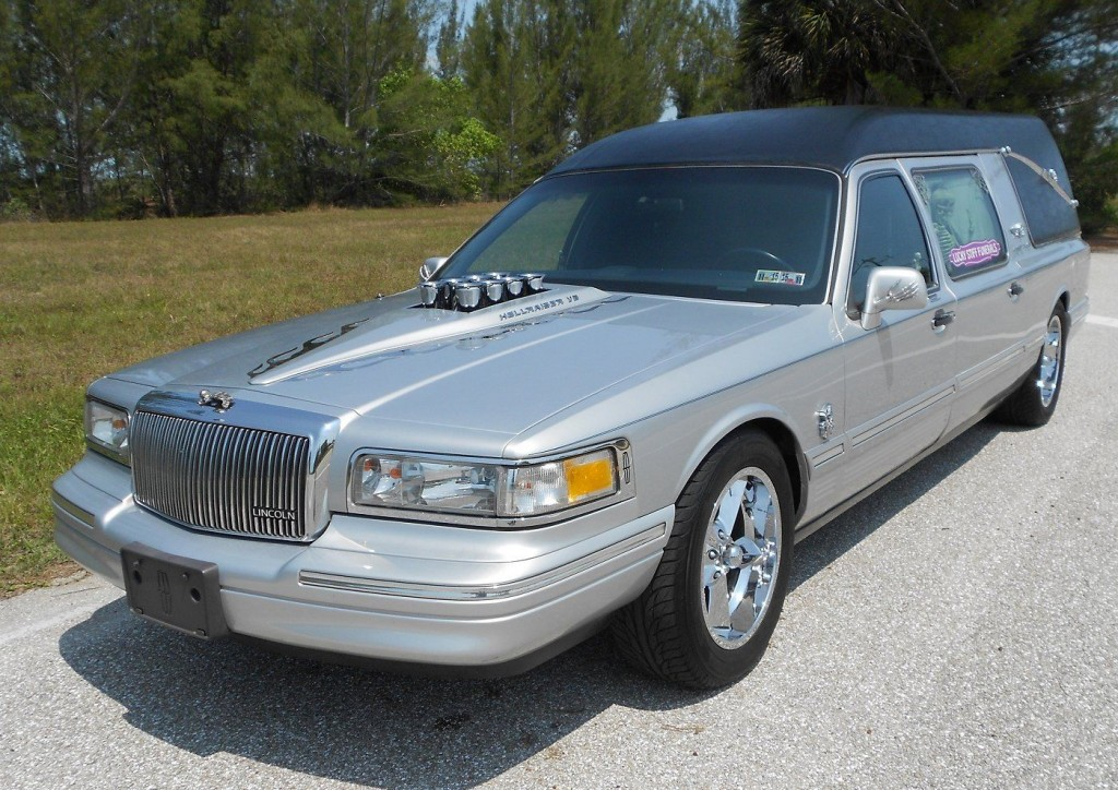 1996 lincoln town car hearse custom hot rod for sale. Black Bedroom Furniture Sets. Home Design Ideas