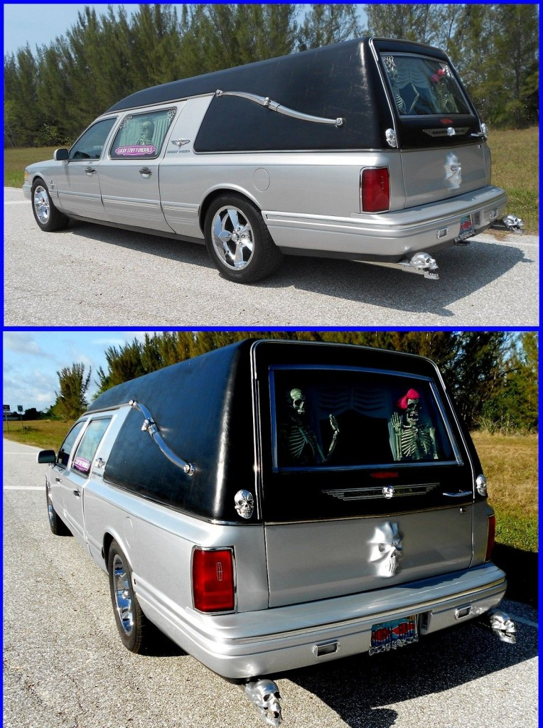 Lincoln Town Car Hearse Custom Hot Rod For Sale X