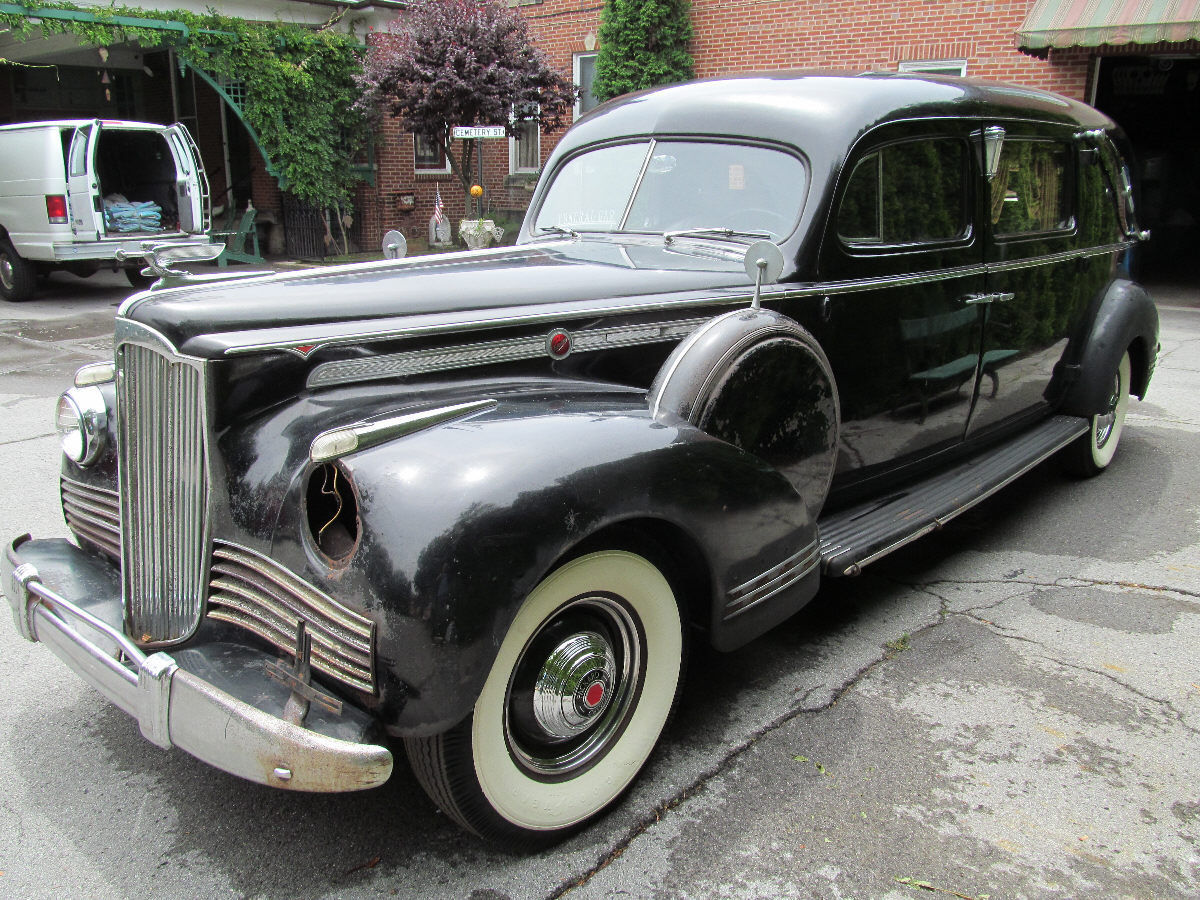 1942 Packard Henney Hearse For Sale