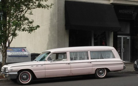 1962 Buick Premier Flxible Professional Coach Hearse for sale