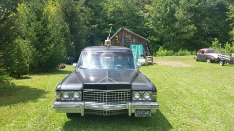 1974 Cadillac S&S Park Row Hearse Combination for sale