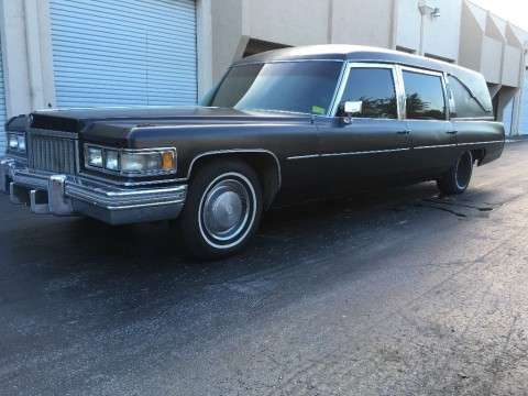 1974 Cadillac Fleetwood Hearse for sale