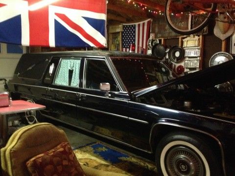 1980 Cadillac S&S Victoria Hearse Rear Loader for sale